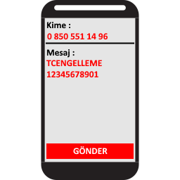 TCENGELLEME 12345678901